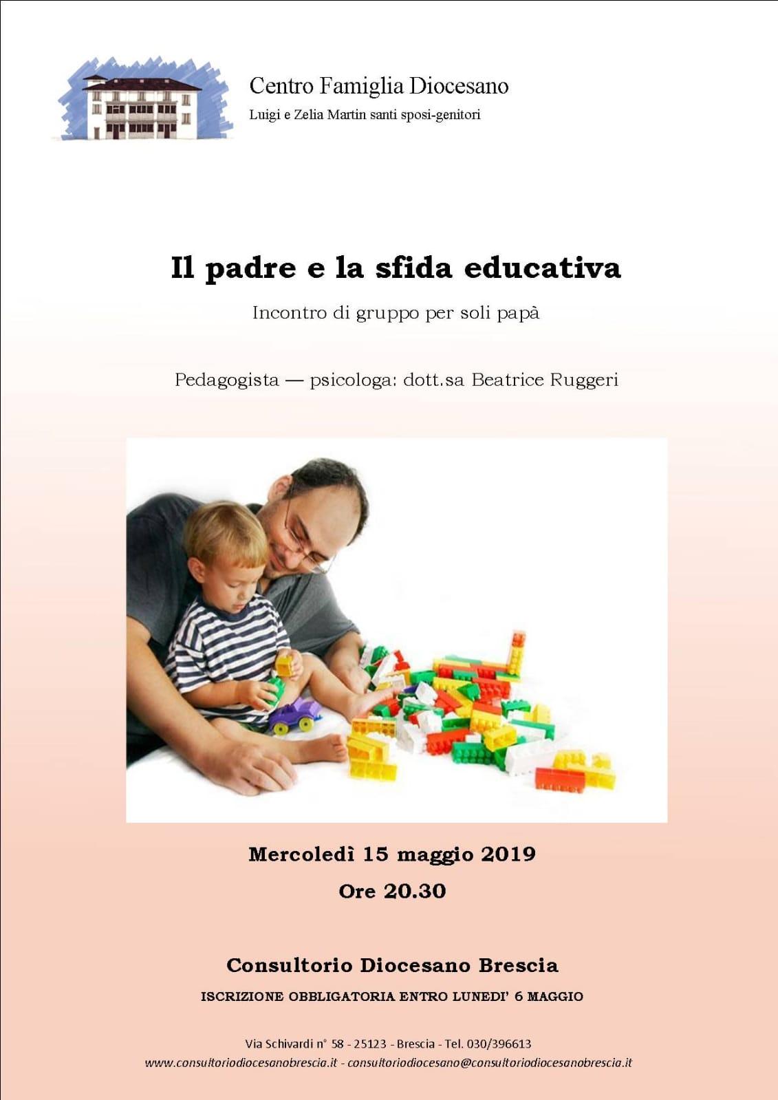 IL PADRE E LA SFIDA EDUCATIVA