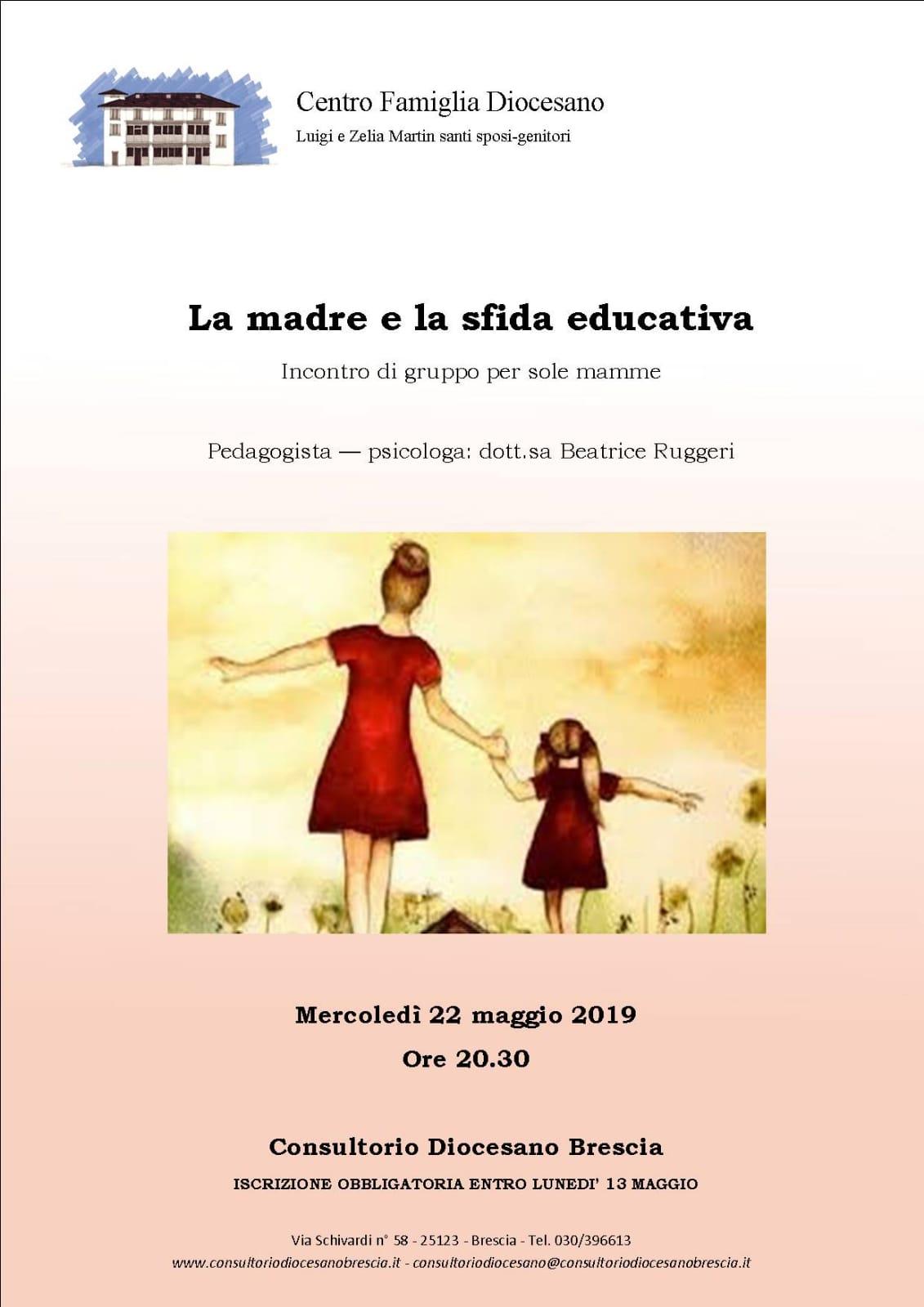 LA MADRE E LA SFIDA EDUCATIVA